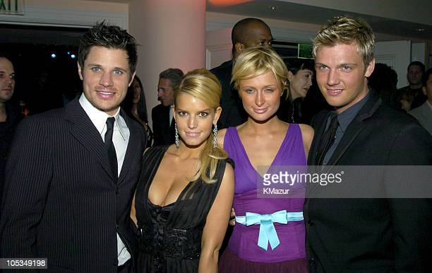 Nick Lachey Jessica Simpson Paris Hilton and Nick Carter