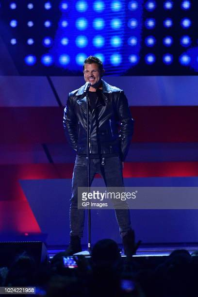 Nick Lachey of 98 Degrees performs at the 2018 iHeartRADIO MuchMusic Video Awards at MuchMusic HQ on August 26 2018 in Toronto Canada