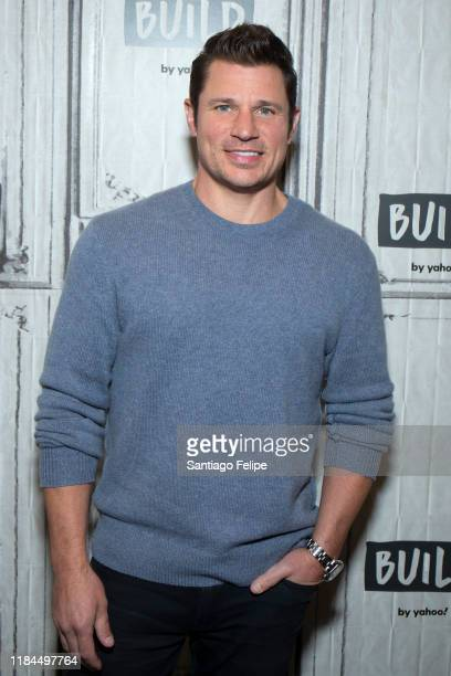 Nick Lachey visits Build Studio on October 30 2019 in New York City