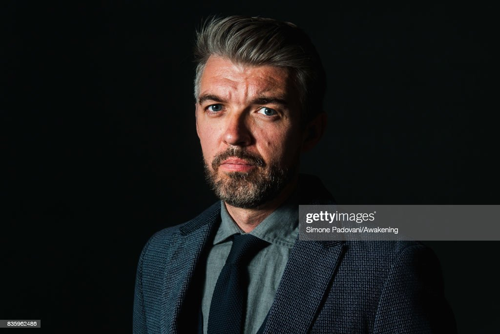 Nick Laird attends a photocall during the Edinburgh International Book Festival on August 20, 2017 in Edinburgh, Scotland.