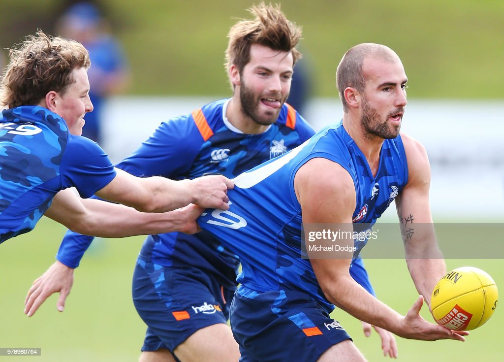 North Melbourne Kangaroos Training Session