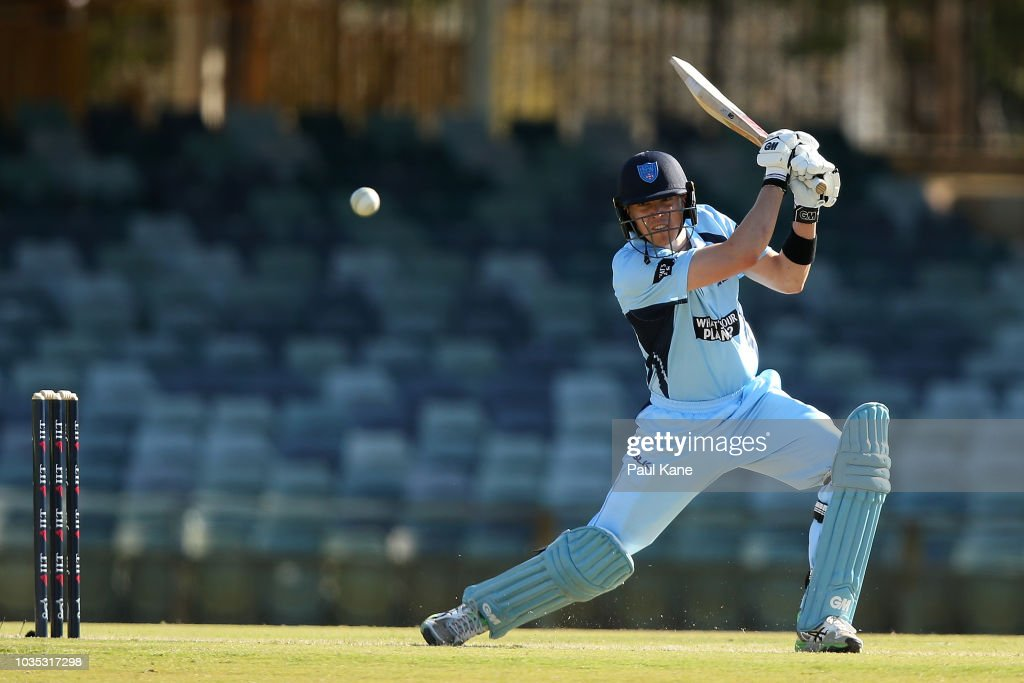 WA v NSW - JLT One Day Cup