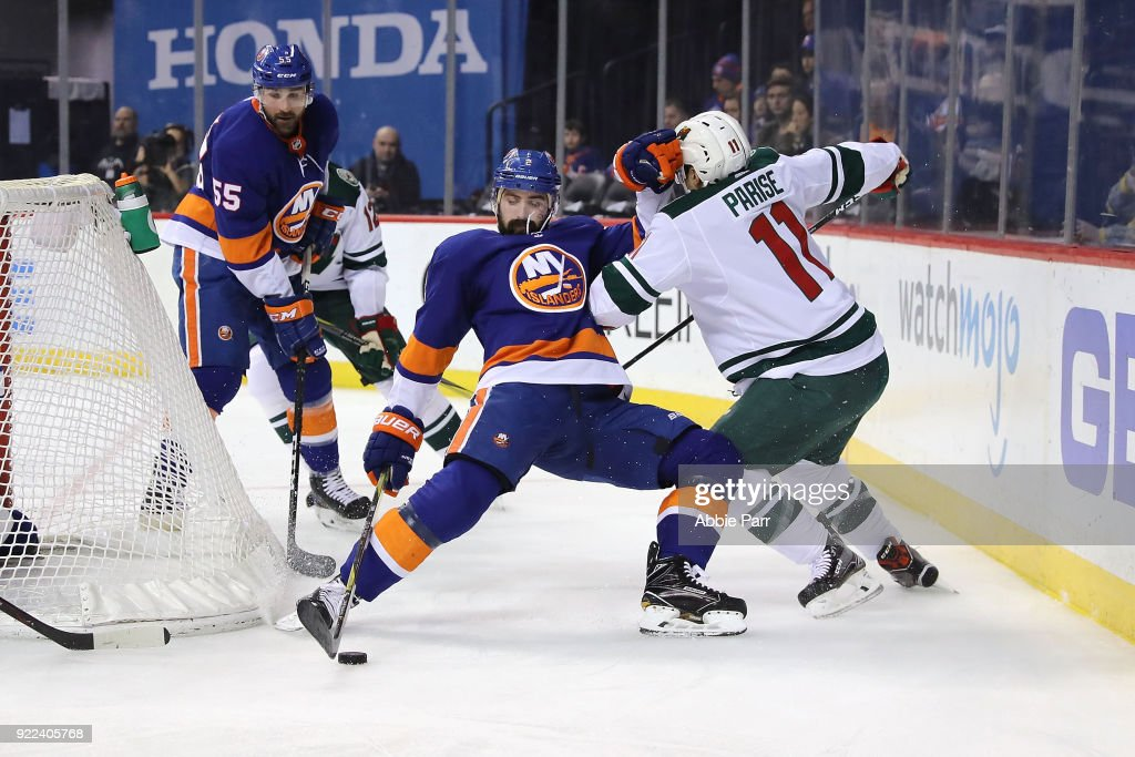 Minnesota Wild v New York Islanders : News Photo