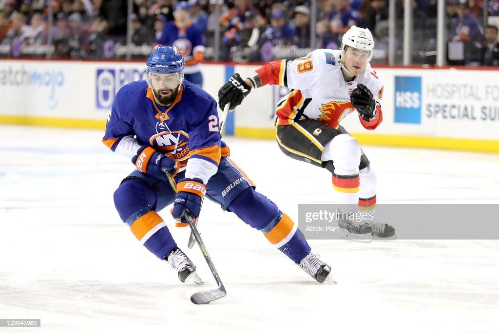 Calgary Flames v New York Islanders : News Photo