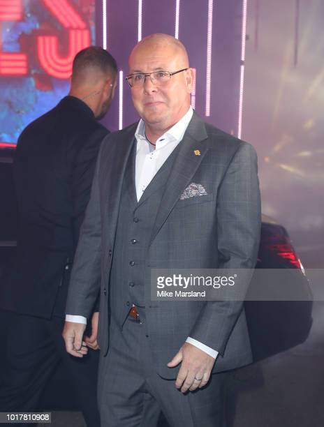 Nick Leeson enters the Celebrity Big Brother house at Elstree Studios on August 16 2018 in Borehamwood England