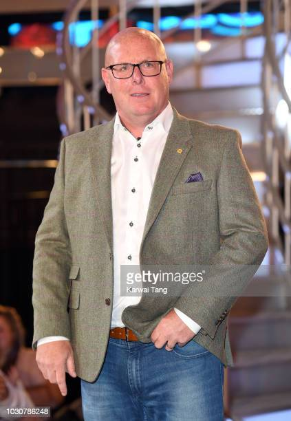 Nick Leeson is evicted during the Celebrity Big Brother final 2018 at Elstree Studios on September 10 2018 in Borehamwood England
