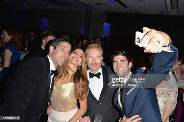 Nick Loeb Sofía Vergara Jesse Tyler Ferguson and Justin Mikita attend the Yahoo News/ABCNews PreWhite House Correspondents' dinner reception preparty...
