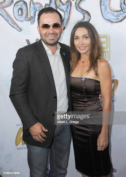 Nick Lopez and Carlotta Montanari arrives for WHQ Vision Films Shquib TV And Eye Scream Films' Release Of Randy's Canvasheld at Laemmle Music Hall on...