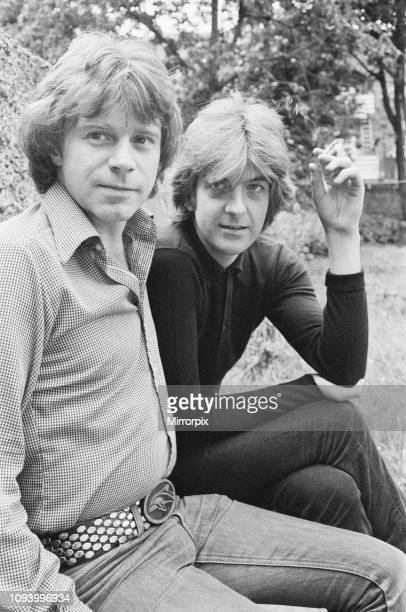 Nick Lowe and Dave Edmunds pictured together, 21st June 1979.