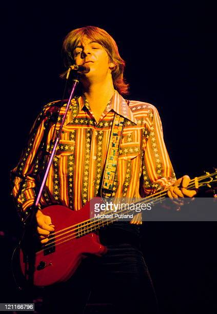 Nick Lowe of Rockpile performs on stage in New York, August 1979.