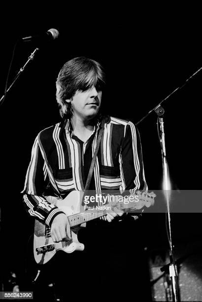 Nick Lowe performing at the Rosemont Horizon in Rosemont Illinois February 13 1982