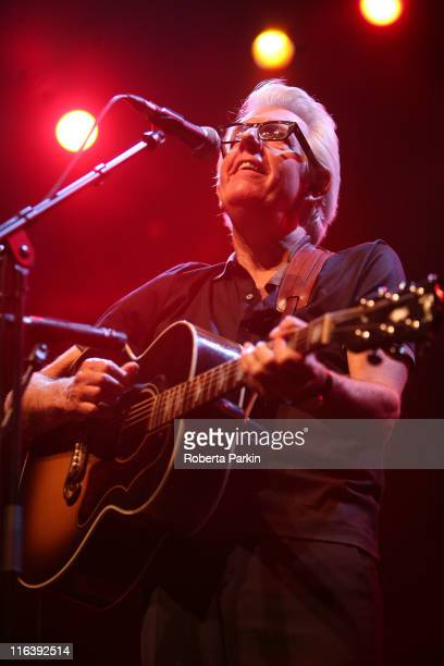 Nick Lowe performs on stage during Ray Davies Meltdown Festival at the Royal Festival Hall on June 15 2011 in London England