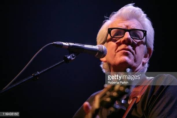 Nick Lowe performs on stage during Ray Davies Meltdown Festival at the Royal Festival Hall on June 15, 2011 in London, United Kingdom.
