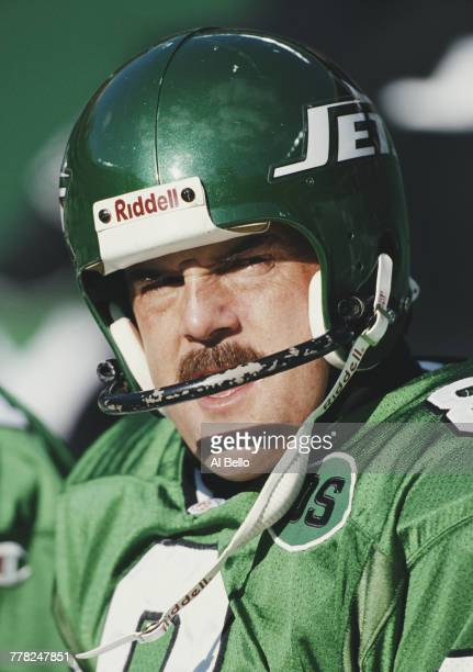 Nick Lowery Kicker for the New York Jets during the American Football Conference East game against the New Orleans Saints on 24 December 1995 at the...