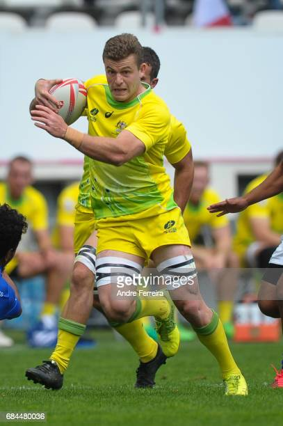 Nick Malouf of Australia during the match between Australia and Samoa at the HSBC Paris Sevens stage of the Rugby Sevens World Series on May 13 2017...