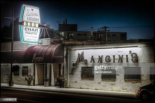 Nick Mancini's iconic Vegas-style bar and restaurant on West 7th Street in St. Paul, MN