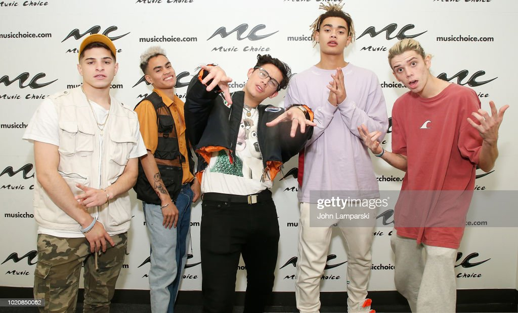 PRETTYMUCH Visits Music Choice