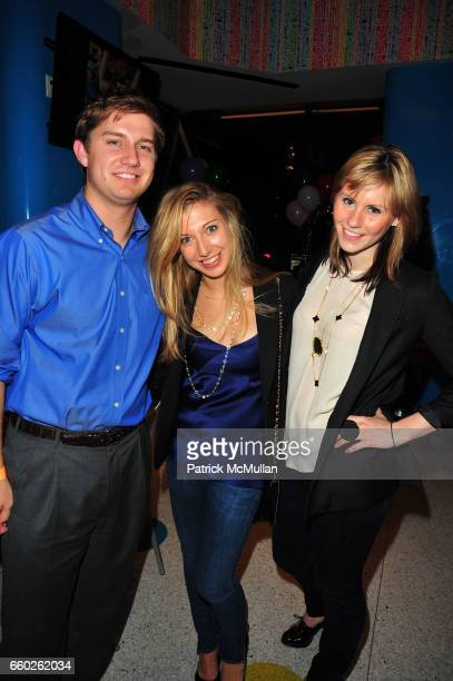 Nick Marino Jacqueline Marino and Cayley Dickenson attend ASSOCIATION to BENEFIT CHILDREN hosts COCKTAILS IN CANDYLAND at Dylan's Candy Bar on June...
