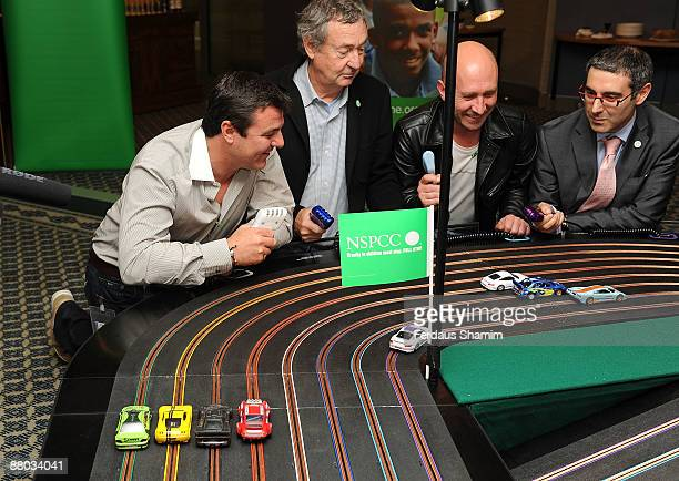 Nick Mason and guests attend NSPCC's charity event launch of 'The Circuit' at the ING Building on May 28 2009 in London England