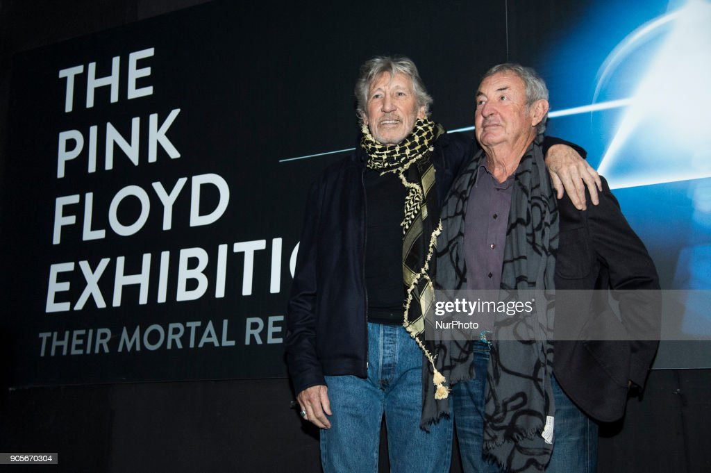 a749727c 'The Pink Floyd Exhibition: Their Mortal Reamins' Press Conference : News  Photo. '