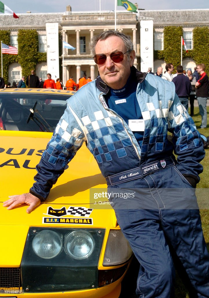 Nick Mason during Goodwood Festival of Speed - Press Launch at Chichester in Chichester, Great Britain.