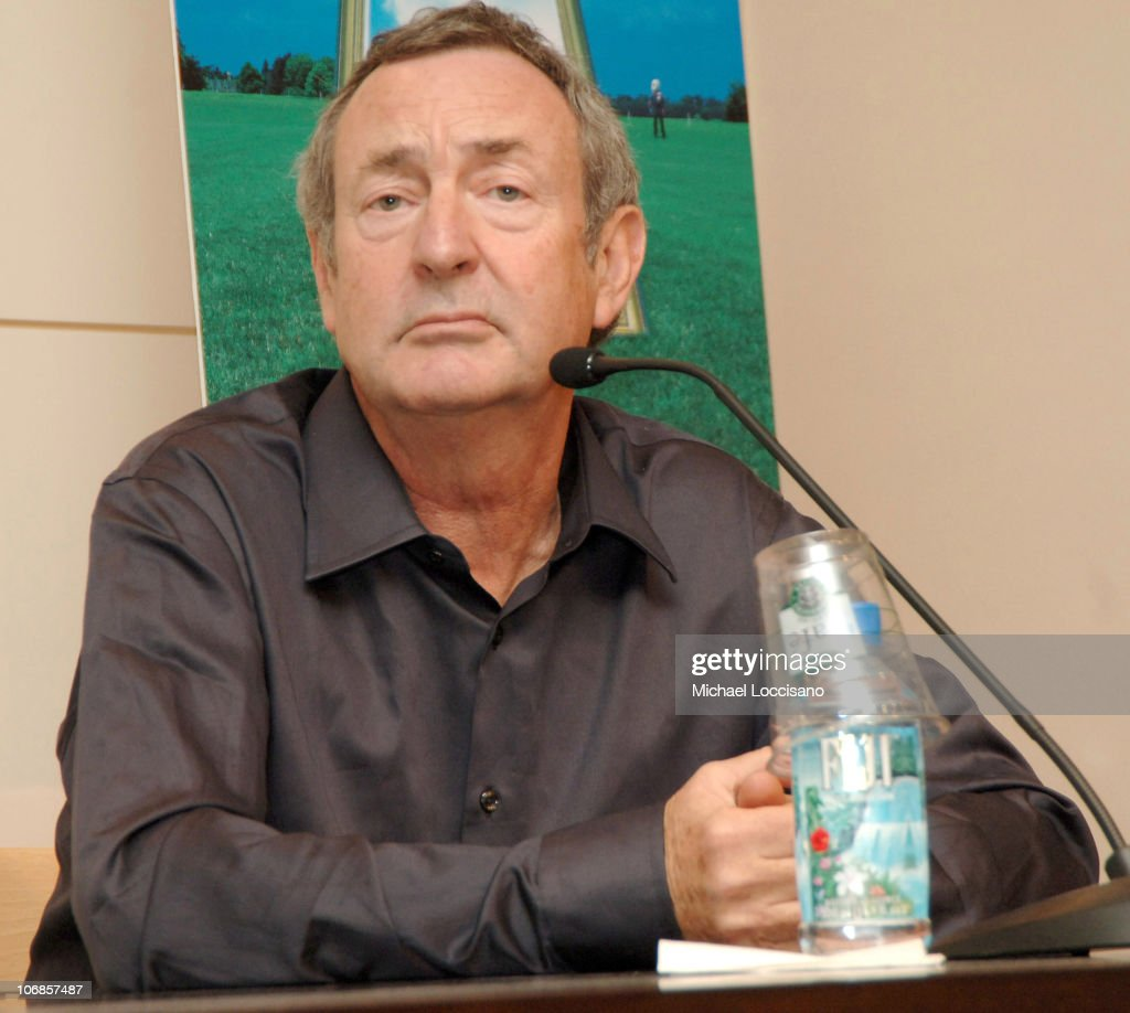 Nick Mason during Nick Mason of Pink Floyd Signs His Book 'Inside Out' at Barnes & Noble in New York City at Barnes & Noble, Union Square in New York City, New York, United States.