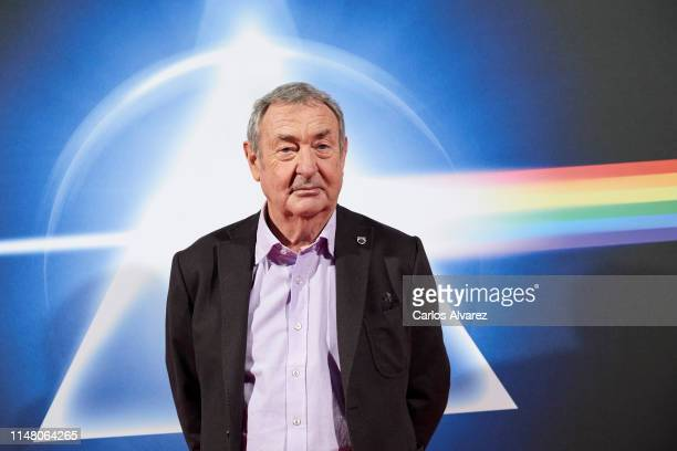 Nick Mason of Pink Floyd attends 'The Pink Floyd Exhibition: Their Mortal Remains' inauguration at Ifema on May 09, 2019 in Madrid, Spain.