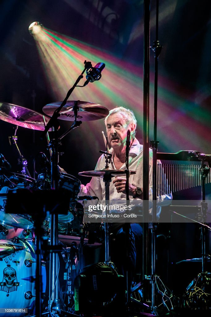 Nick Mason Performs In Milan