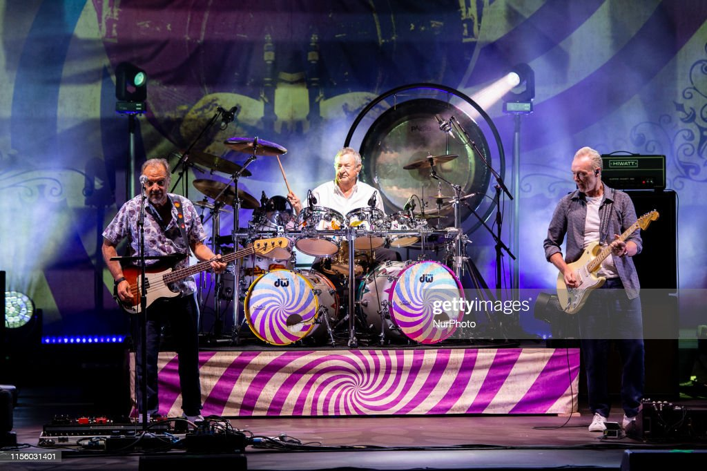 Nick Mason of Pink Folyd and his Saucerful of Secrets performs live in Rome : News Photo