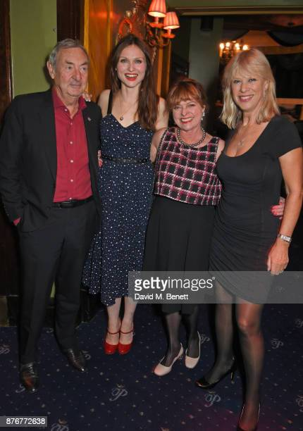 Nick Mason Sophie EllisBextor Janet Ellis and Annette Mason attend Chic To Cheek The National Youth Theatre Gala at Cafe de Paris on November 20 2017...