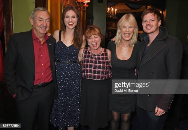 Nick Mason Sophie EllisBextor Janet Ellis Annette Mason and Richard Jones attend Chic To Cheek The National Youth Theatre Gala at Cafe de Paris on...