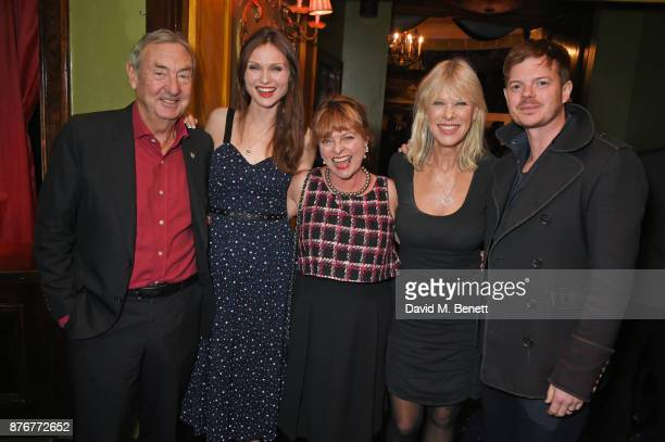 Nick Mason Sophie EllisBextor Janet Ellis Annette Mason and Richard Jones attend Chic To Cheek The National Youth Theatre Gala at Cafe de Paris on...
