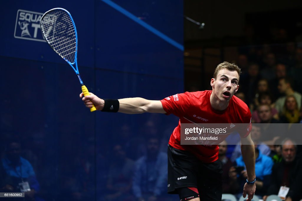 Canary Wharf Squash Classic 2017 : News Photo