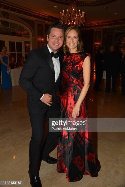 Nick Mayo and Kate Lear attend Ballet Hispánico's CARNAVAL Gala 2019 at The Plaza Hotel on May 6 2019 in New York City