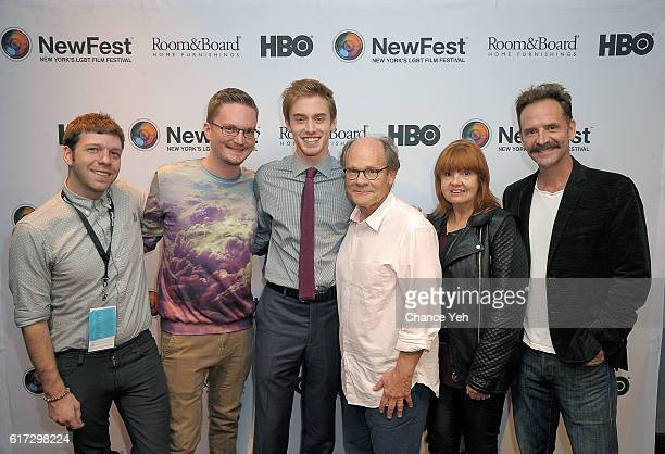 Nick McCarthy Nathan Adloff Tim Boardman Ethan Phillips Annie Golden and Malcom Gets attend 'Miles' New York screening and QA at Cinepolis Chelsea on...
