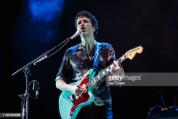 Nick McCarthy of Franz Ferdinand performs in concert during the Festival Internacional de Benicassim on July 21, 2019 in Benicassim, Spain.
