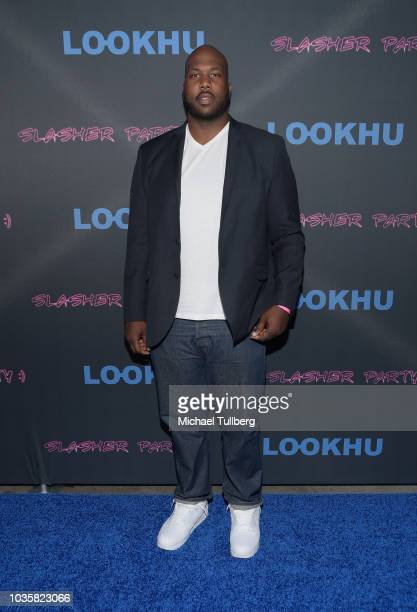 Nick Mckissic attends the premiere party for LookHu's Slasher Party at ArcLight Hollywood on September 18 2018 in Hollywood California