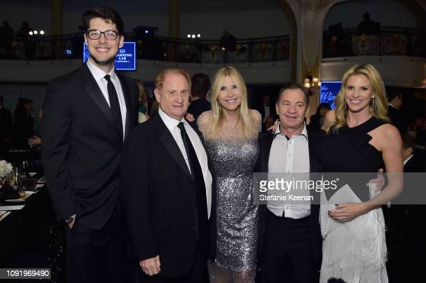 Nick Medavoy Mike Medavoy Irena Medavoy Alec Gores and Kelly Gores attend Learning Lab Ventures 2019 Gala Presented by Farfetch at Beverly Hills...