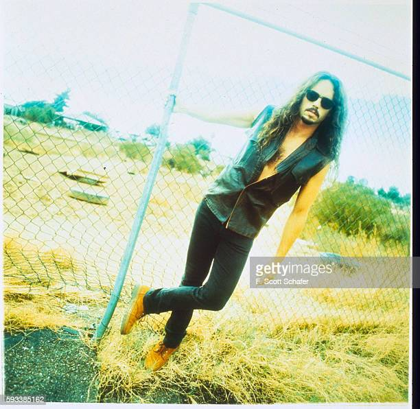 Nick Menza of Megadeth is photographed in 1994 in Los Angeles California
