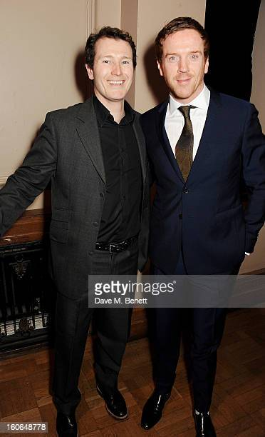 Nick Moran and Damian Lewis attend the London Evening Standard British Film Awards supported by Moet Chandon and Chopard at the London Film Museum on...