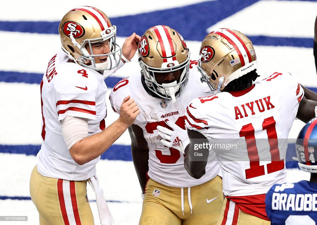 San Francisco 49ers v New York Giants : News Photo