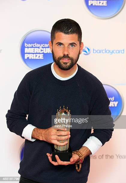 Nick Mulvey attends the Barclaycard Mercury Prize nominations launch at The Hospital Club on September 10 2014 in London England