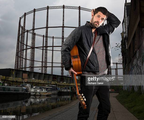Nick Mulvey is an English musician singer and songwriter Nick Mulvey is photographed on the Regents Canal in Hackney east London England