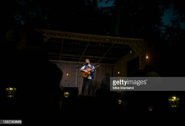 Nick Mulvey performs Home Farm Live 2021 on August 03, 2021 in Elstree, England.