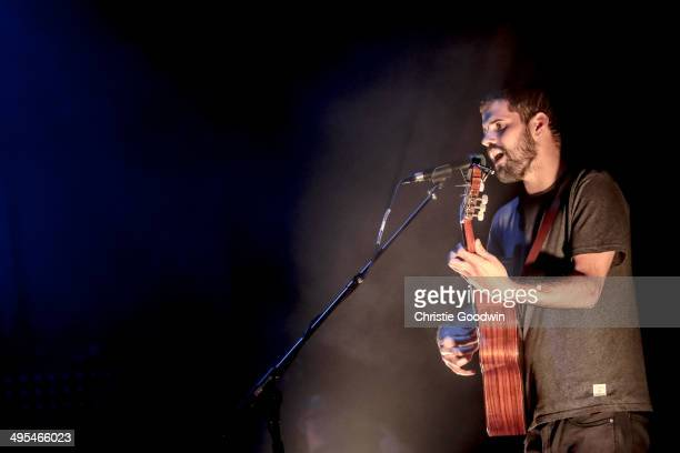 Nick Mulvey performs on stage at Brixton Academy on June 3 2014 in London United Kingdom