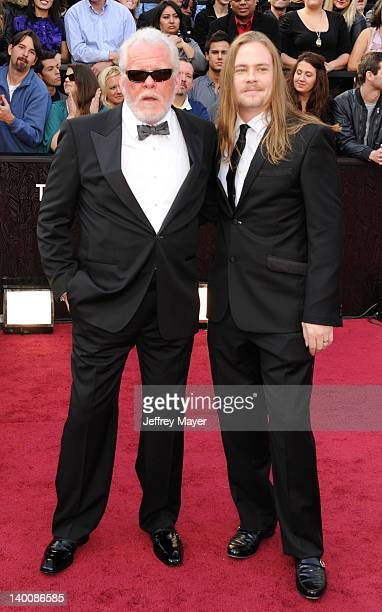 Nick Nolte and Brawley Nolte arrive at the 84th Annual Academy Awards held at Hollywood Highland Centre on February 26 2012 in Hollywood California
