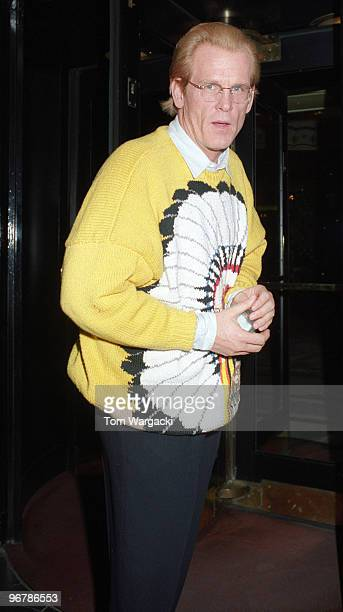 Nick Nolte and exwife Rebecca Linger at the Dorchester Hotel on February 15 1992 in London England