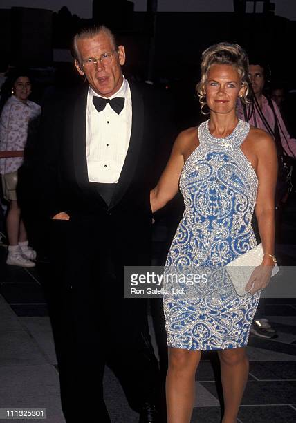 Nick Nolte and Rebecca Linger during The Player Los Angeles Premiere at LA County Museum of Art in Los Angeles California United States