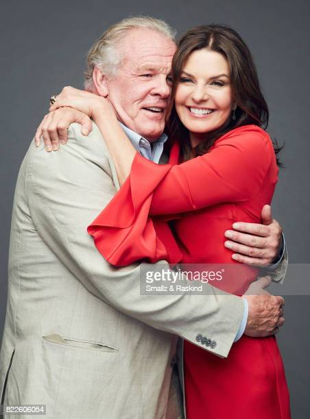Nick Nolte and Sela Ward of EPIX 'Graves' pose for a portrait during the 2017 Summer Television Critics Association Press Tour at The Beverly Hilton...