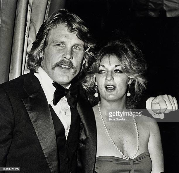 Nick Nolte and Sharyn Haddad during American Film Institute Salute to Henry Fonda 1978 at Beverly Hilton Hotel in Beverly Hills California United...